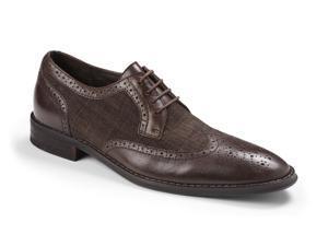 Vionic Roth Men's Lace-up Dress Orthotic Shoe Chestnut