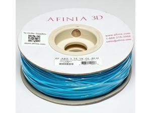 AFINIA Value-Line Glow-in-the-Dark Blue ABS Filament for 3D Printers