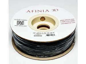 AFINIA Value-Line Black ABS Filament for 3D Printers