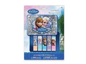 Disney Frozen 5 Piece Lip Balm Set with Carrying Case