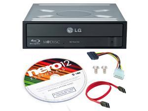LG WH16NS40 BD Rewriter 16X Speed & Nero12 Software & SATA Cable Kit