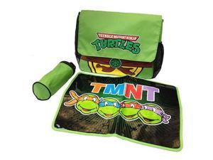 Nickelodeon TME51563 Teenage Mutant Ninja Turtles TMNT Messenger Diaper Bag Set