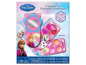 Disney Frozen 3 layer Slide Out Make Up Case in Window Box Set