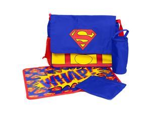 Superman Messenger Diaper Bag Set