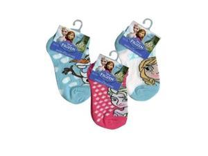 Disney Frozen Anklets Socks 4-6 on Header Card