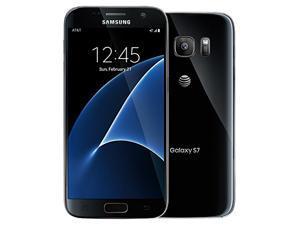 Samsung S7 G930A AT&T Unlocked Black 32GB LTE