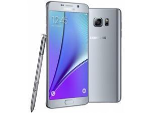 """Samsung Galaxy Note 5 SM-N920G 32GB 5.7"""" Silver Factory Unlocked N920"""