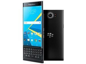 """BlackBerry Priv Black STV100-1 AT&T Unlocked GSM Slider Android 5.4"""" 32GB"""