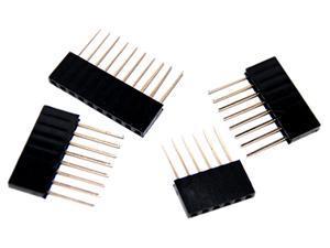Arduino Stackable Header Kit (1 x 6pin, 2 x 8 pin, 1 x 10 pin PER SET) - 10 SETS IN TOTAL
