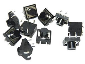Momentary Push Button Switch - 12mm Square (50 buttons in total)