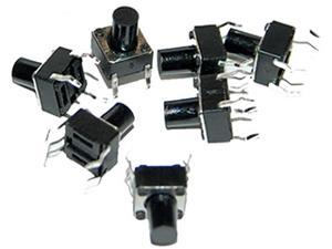 Mini Push Button Switch (100 buttons in total)