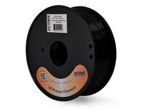 Octave 1.75mm Black ABS Filament 1kg (2.2lbs) Spool for Reprap, MakerBot, Afinia and UP! 3D Printer