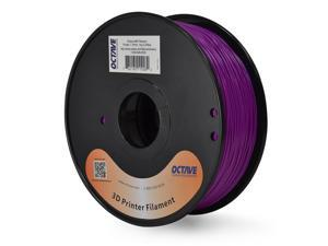 Octave 1.75mm Purple ABS Filament 1kg (2.2lbs) Spool for Reprap, MakerBot, Afinia and UP! 3D Printer