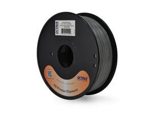 Octave 1.75mm Grey ABS Filament 1kg (2.2lbs) Spool for Reprap, MakerBot, Afinia and UP! 3D Printer