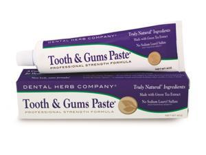 Dental Herb Company Value Pack Tooth and Gums Paste 4 oz. - 3 Tubes