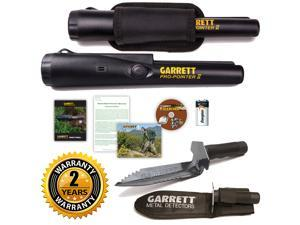 Garrett Pro-Pointer II Metal Detector Pinpointer Probe and Edge Digger Combo
