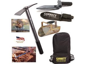 Garrett Retriever II Steel Pick with Sand Scoop, Backpack and Edge Digger Tool