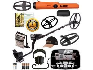 Garrett AT Pro All Terrain Spring Special Metal Detector 2 Coils & AT Propointer