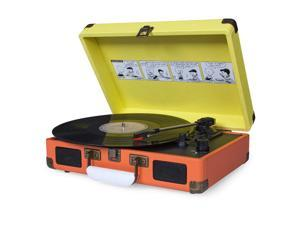 Crosley Radio Peanuts Cruiser 3-Speed Portable Turntable
