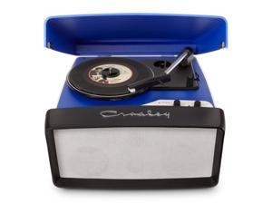 Crosley Radio Collegiate Portable USB Turntable, Blue - CR6010A-BL
