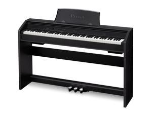 Casio PX760 BK Privia Digital Home Piano, Black