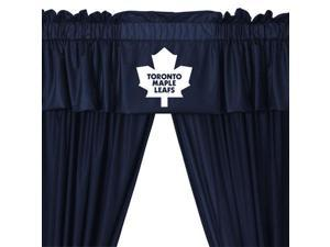 NHL Toronto Maple Leafs Hockey 5pc Valance-Curtains Set