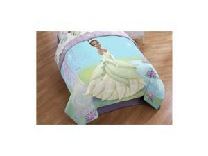 Princess and the Frog Purple Vine Twin Comforter
