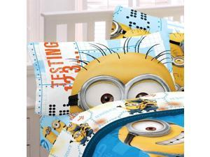 Despicable Me Minions Full Sheets Testing 123 Bedding