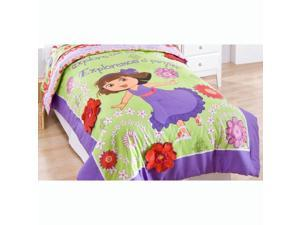 Dora Explorer Full Comforter Shams Set Park Picnic Bedding