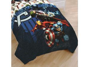 Marvel Avengers Full Comforter Earth Mighty Heroes Bedding