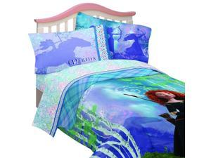 Disney Brave Twin Bedding Princess Merida Forest Bed Set