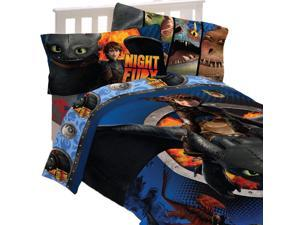 Train Your Dragon Twin Bedding Set Flyers Comforter Sheets