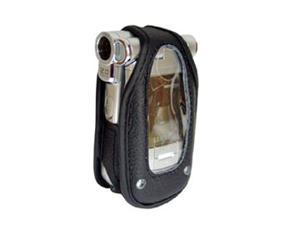 Amzer Leather Case with Standard Clip for Samsung SPH-A940