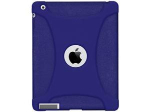 Amzer Silicone Skin Fit Jelly Case Cover For Apple The new iPad - Blue
