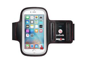 Yurbuds IronMan Series ErgoSport Soft Neoprene Adjustable Armband with Screen Guard Key Pouch for Samsung Galaxy J2 SM-J200F