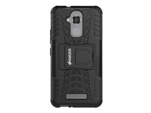 AMZER Impact Resistant Hybrid Warrior Case with Kickstand for Asus ZenFone 3 Max ZC520TL