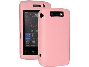 Amzer Silicone Skin Jelly Case for BlackBerry Storm 2 9550 - Baby Pink