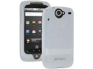 Amzer Silicone Skin Jelly Case for HTC Nexus One, Google Nexus One PB99100 - Lilly White