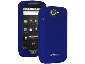 Amzer Silicone Skin Jelly Case for HTC Nexus One, Google Nexus One PB99100 - Blue