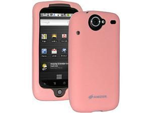 Amzer Silicone Skin Jelly Case for HTC Nexus One, Google Nexus One PB99100 - Baby Pink