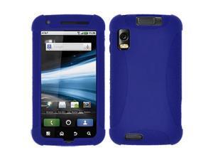 Amzer Silicone Skin Jelly Case for Motorola ATRIX 4G MB860 - Blue