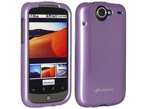 Amzer Polished Snap-On Crystal Hard Case for Google Nexus One PB99100/HTC Nexus One - Purple