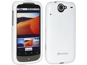 Amzer Polished Snap-On Crystal Hard Case for Google Nexus One PB99100/HTC Nexus One - White