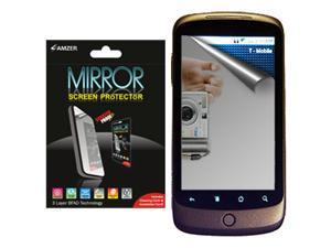 Amzer Mirror Screen Protector Shield with Cleaning Cloth for Google Nexus One PB99100/HTC Nexus One