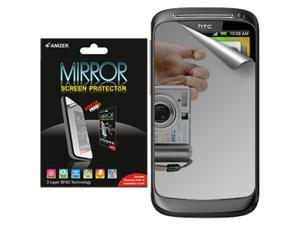 Amzer Mirror Screen Protector with Cleaning Cloth for HTC Desire S