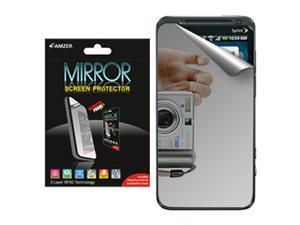 Amzer Mirror Screen Protector with Cleaning Cloth for HTC EVO 3D