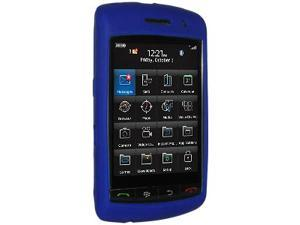 Amzer Silicone Skin Jelly Case for BlackBerry Storm 9530 -  Blue