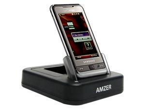 Amzer Desktop Charging Cradle with Extra Battery Charging Slot for Samsung Omnia SCH-i910, Samsung Omnia SGH-i900
