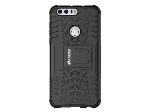 Amzer Dual Layer Rugged Hybrid Warrior Kickstand Case for Huawei Honor 8