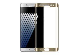 Samsung GALAXY Note7 N930F Screen Protector Tempered Glass HD Edge2Edge 0.3mm thin Gold Screen Protection Shield Cover for Samsung GALAXY Note 7